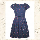 50's Retro Flamingo Dress_